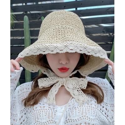 aimoha / レースハット WOMEN 帽子 > ハット