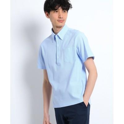 TAKEO KIKUCHI / CS_カノコジャージポロシャツ MEN トップス > ポロシャツ