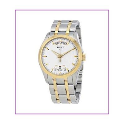 ティソt-trend Couturierホワイトダイヤルツートンカラーメンズ時計t0354072201100(並行輸入品)