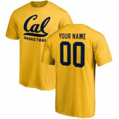 Fanatics Branded ファナティクス ブランド スポーツ用品  Fanatics Branded Cal Bears Gold Any Name & Number Personalized Basketball