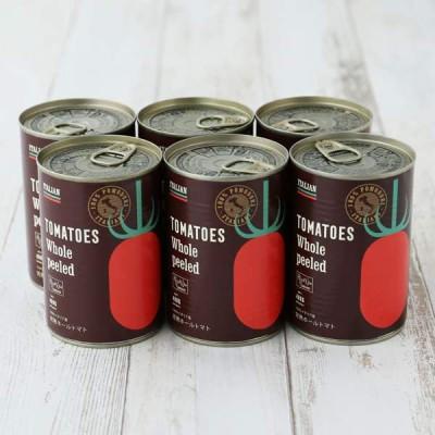 LOHACO限定 完熟トマト100%イタリア産ホールトマト缶 1セット(3缶)2020年夏収穫トマト製造