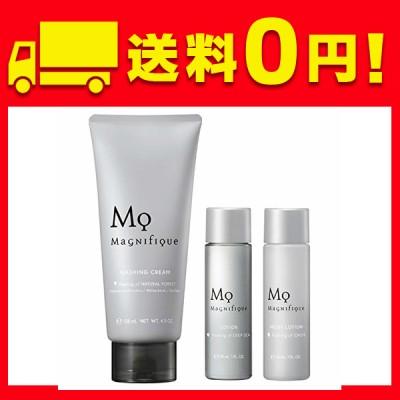 マニフィーク 洗顔 メンズ スキンケア トライアルセット 洗顔料 洗顔フォーム 130g+化粧水 30mL+乳液 30mL