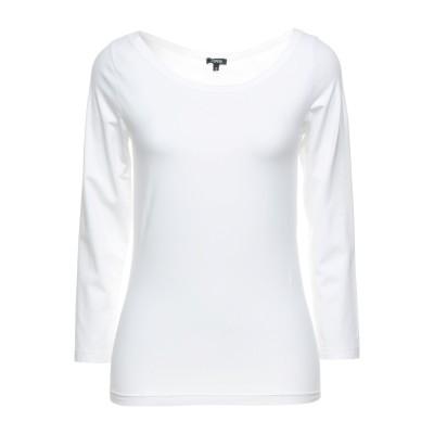 アスペジ ASPESI T シャツ ホワイト S コットン 88% / ポリウレタン 12% T シャツ