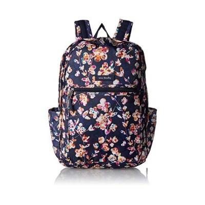 Vera Bradley Women's Lighten Up Grand Backpack, Cut Vines 並行輸入品
