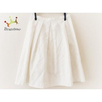 アプワイザーリッシェ Apuweiser-riche スカート サイズ1 S レディース 美品 白     スペシャル特価 20200509
