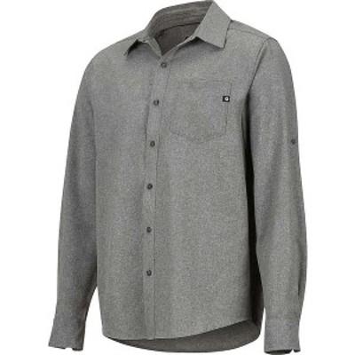 マーモット メンズ シャツ トップス Marmot Men's Aerobora LS Shirt Cinder