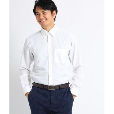TAKEO KIKUCHI/タケオキクチ 【Sサイズ~】カラミ織りシャツ ホワイト(001) 02(M)