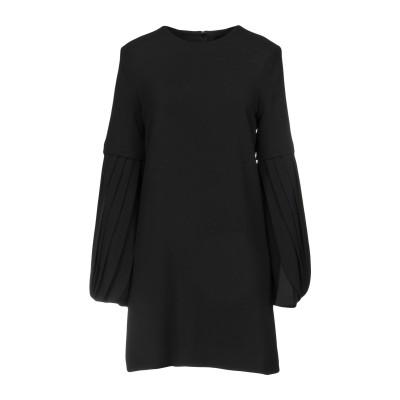BRANDON MAXWELL ミニワンピース&ドレス ブラック 4 レーヨン 51% / アセテート 46% / ポリウレタン 3% ミニワンピー