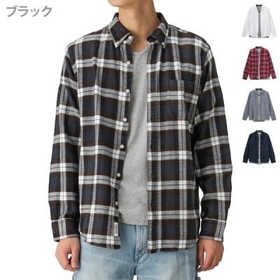 カラミ織りアンサンブルシャツ 8470-8076 メンズ