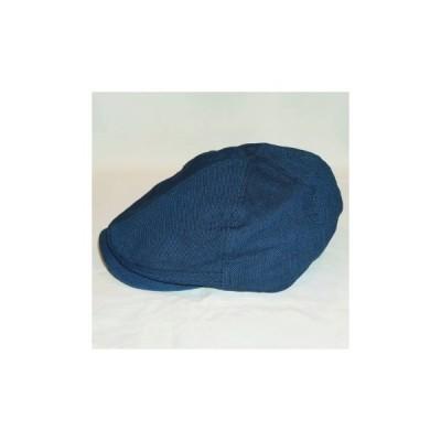 SJ301HN17-NK-インディゴ-魚子織ハンチング17-NK-SJ301HN17NK-SAMURAIJEANS-サムライジーンズハンチング-帽子-ハンチングキャップ