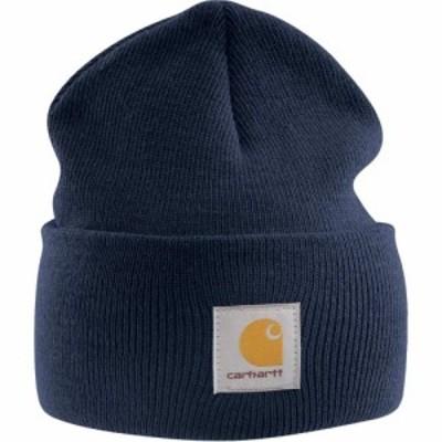 カーハート Carhartt ユニセックス ニット ニットキャップ 帽子 A18 Watch Hat Navy