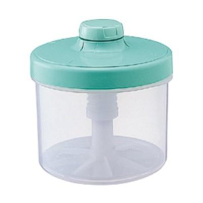 簡易漬物容器 3L 丸形 グリーン リス 漬物容器 ハイペット E-30