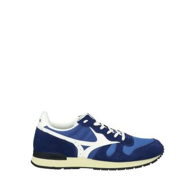 ミズノ MIZUNO スニーカー&テニスシューズ(ローカット) ブルー 8.5 革 / 紡績繊維 スニーカー&テニスシューズ(ローカット)