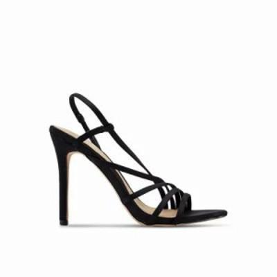 ミスガイデッド ヒール Asymmetric Multi Strap Heels Black