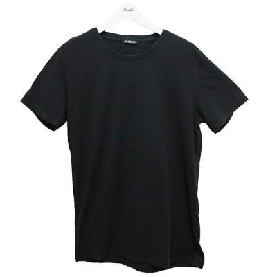 BALMAIN 無地ダメージTシャツ ブラック サイズ:XL (阿佐ヶ谷店) 200824