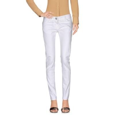 レリッシュ RELISH パンツ ホワイト 28 コットン 98% / ポリウレタン 2% パンツ