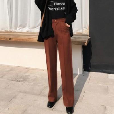 レディース ガウチョパンツ ワイドパンツ リラックス きれいめ OL 小柄 小さいサイズ 小さい 服