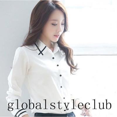 新品 ブラウス レディース シャツ トップス ビジネス オフィス Yシャツ フォーマル ホワイト スーツ スーツインナー OL 通勤