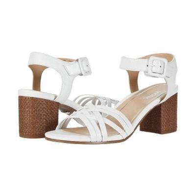 VIONIC バイオニック レディース 女性用 シューズ 靴 ヒール Peony - White Leather