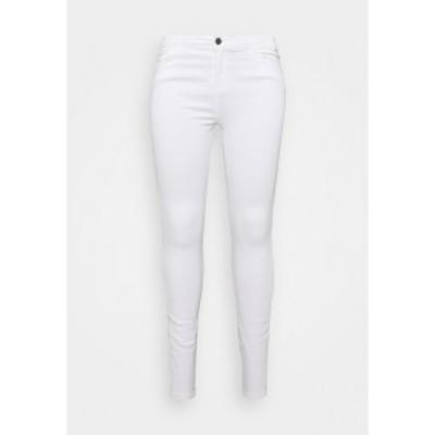 ノイジー メイ カーブ レディース デニムパンツ ボトムス NMLUCY - Jeans Skinny Fit - white white