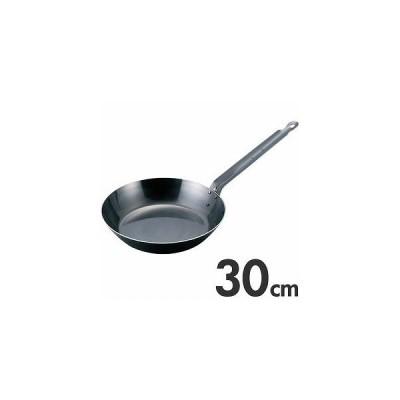 EBM ブルーテンパー 鉄フライパン 30cm IH(200V)対応