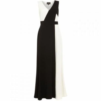 フェイズ エイト Phase Eight レディース ワンピース マキシ丈 ワンピース・ドレス Dionne Contrast Maxi Dress Black Ivory