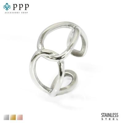 ステンレス リング(171)デザイン 銀色(メイン) 指輪 金属アレルギー対応 レディース メンズ 送料無料 ステンレス 指輪 サージカル