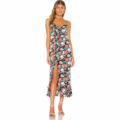 マジョレル MAJORELLE レディース ワンピース ミドル丈 ワンピース・ドレス Quincy Midi Dress Spring Multi