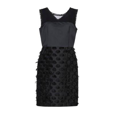 PENNYBLACK ミニワンピース&ドレス ブラック 46 ポリエステル 100% / レーヨン ミニワンピース&ドレス