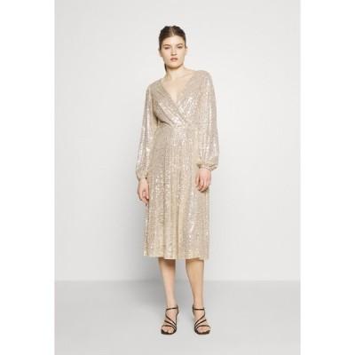 ラルフローレン ワンピース レディース トップス MILLBROOK - Cocktail dress / Party dress - gold