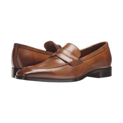 Massimo Matteo マッシオマッテオ メンズ 男性用 シューズ 靴 ローファー New Mocc Penny - Burnished Tan