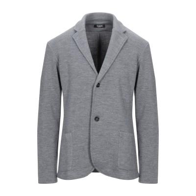 +39 MASQ テーラードジャケット グレー XL ウール 50% / アクリル 50% テーラードジャケット