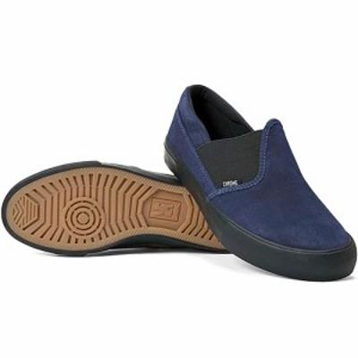 クローム(CHROME) メンズ スリッポン ディマ 2.0 スエード DIMA 2.0 SUEDE ネイビー/ブラックスエード FW169NBSD0 【スニーカー 靴 カ
