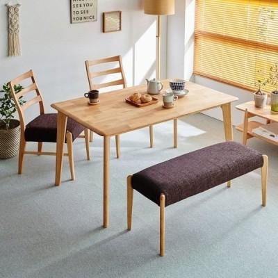 ダイニングテーブル 天然木 アルダー材 北欧 おしゃれ 2人掛け 幅80 奥行80 高さ70 ブラウン