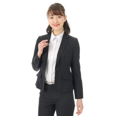 1ボタンショートジャケット【セット着用可】【ウォッシャブル】
