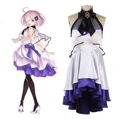 Fate/Grand Order WALTZ マシュキリエライト パーティードレス コスプレ衣装 コスチューム フェイト グランドオーダー FGO 演出服