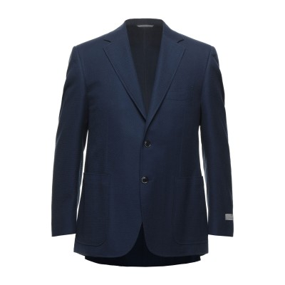 カナーリ CANALI テーラードジャケット ブルー 50 ウール 58% / コットン 42% テーラードジャケット