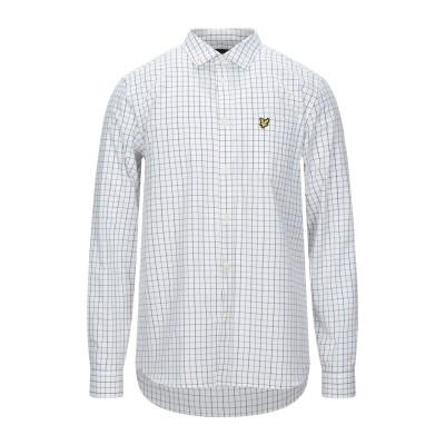 ライルアンドスコット LYLE & SCOTT シャツ ホワイト M コットン 100% シャツ