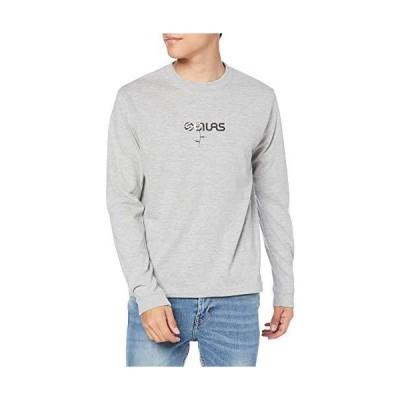サイラス Tシャツ FLOWER PRINT LS TEE メンズ ASH M