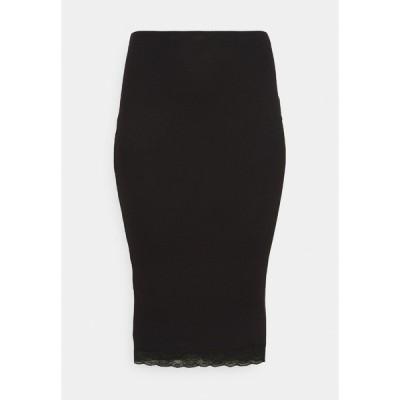 ミスガイデッド スカート レディース ボトムス MIDI SKIRT - Pencil skirt - black