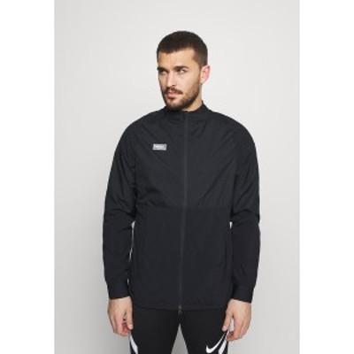 ナイキ メンズ ジャケット&ブルゾン アウター Training jacket - black/black/white/clear black/black/white/clear