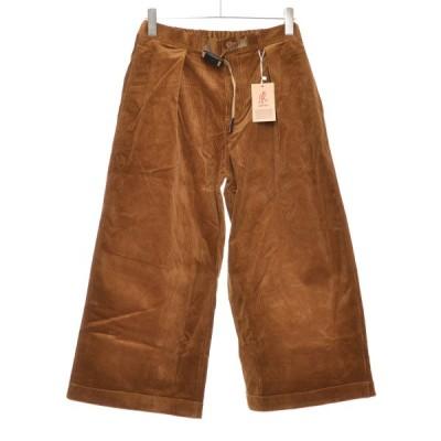 GRAMICCI グラミチ COURDUROY BAGGY PANTS コーデュロイバギーパンツ 2019AW ズボン サイズL メンズ コットン98%ポリウレタン2% キャメルブラウン