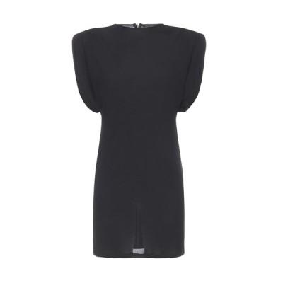 ヴェルサーチ レディース ワンピース トップス Versace Structured Shoulder Mini Dress -