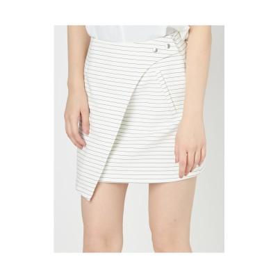 EMODA ラップデザインスカート ライトミックス