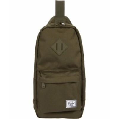 ハーシェルサプライ メンズ バックパック・リュックサック バッグ Heritage Shoulder Bag Ivy Green