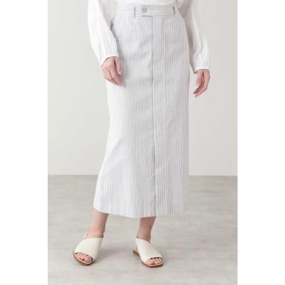 ◆≪Japan Couture≫パイルドビースカート シロ×グレー3