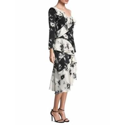 デルフィコレクティブ レディース ワンピース Lily Floral Ruffle Dress
