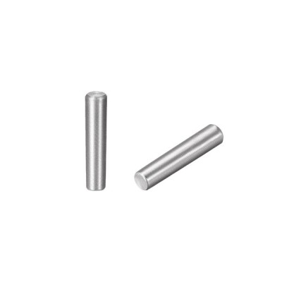uxcell 炭素鋼GB117?40mm長さ?8mm X 8.8mm小口径?1:50テーパーピン?5個
