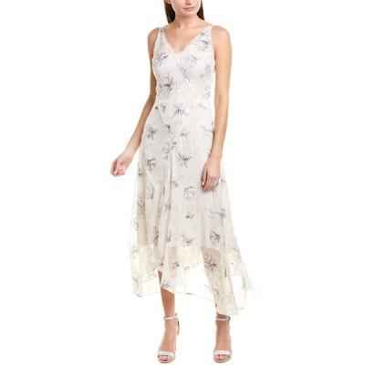 ジェイソンウー ワンピース トップス レディース Jason Wu Winter Floral Silk-Blend Maxi Dress pale quartz
