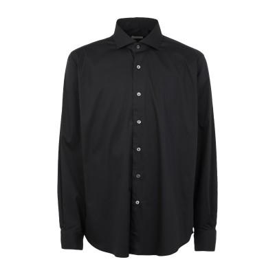 DU4 シャツ ブラック 43 コットン 65% / ナイロン 30% / ポリウレタン 5% シャツ